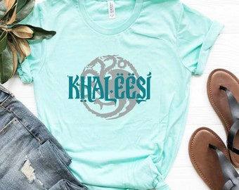 67ba1d47 Khaleesi shirt, games of thrones shirt, game of thrones tee, mother of dragons  shirt, bella canvas unisex