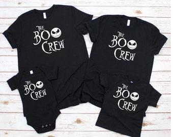 boo crew shirt, jack Skellington shirt, Boys Halloween Shirt, halloween shirt for boys, halloween shirt for kids, halloween kids