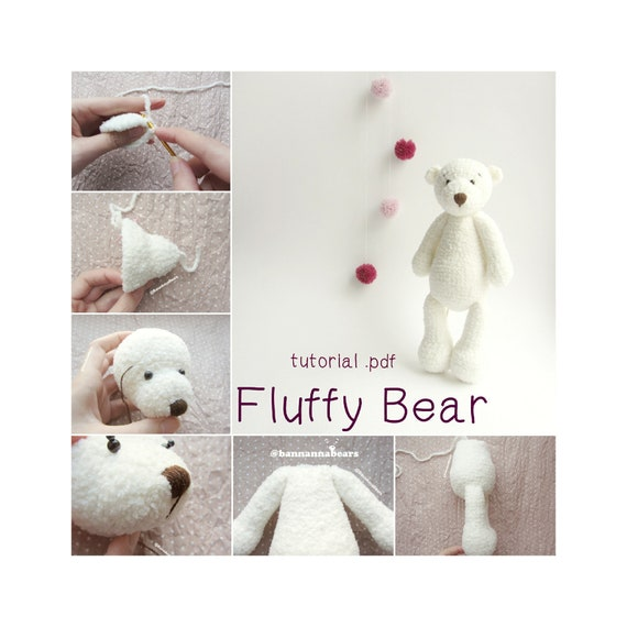 Amigurumi Crochet Bear Pattern   Supergurumi   570x570