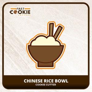 Tempura Bowl 266-C123 Cookie Cutter Set