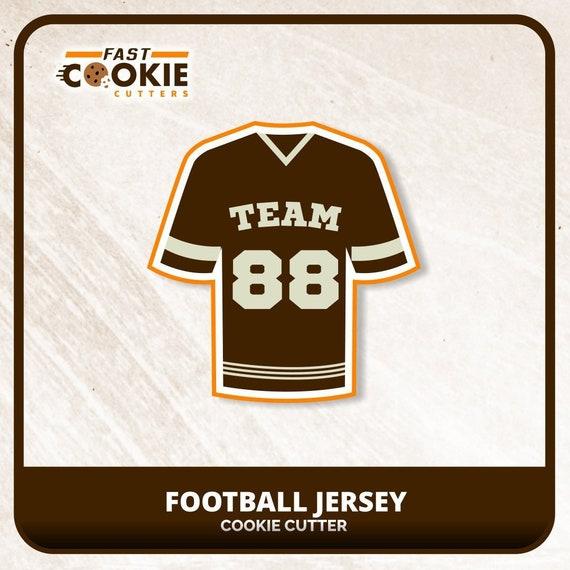 Football Jersey 100 Cookie Cutter Set