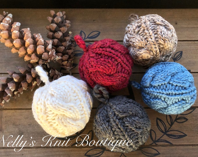 Christmas Ornament, Knit Ornament
