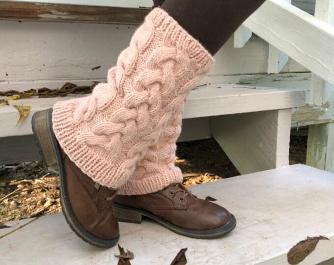Girl winter leg warmers