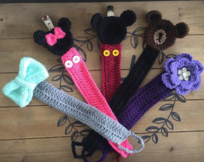 Baby pacifier holder, Baby pacifier clips