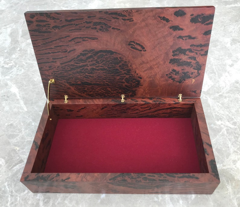 Red Gum Burl Box