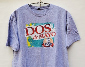 Dos de Mayo Dos Equis (XX) Most Interesting Man in the World Gray T-Shirt