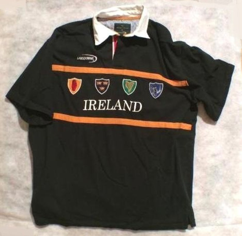 1bb43d1a8 Lansdowne Heritage Collection Ireland Polo Shirt Size XL