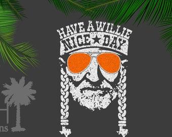 Willie Nice Day SVG