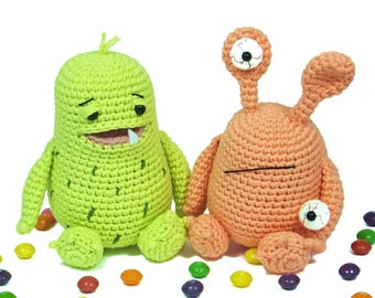 Berndt and Judy, the monsters · Amigurumi pattern