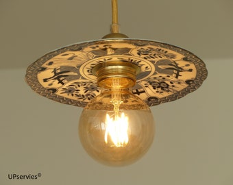 Flying saucer lamp | Etsy