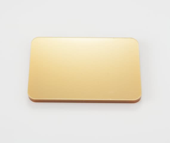 Rose Gold Mirror Acrylic 3mm thick Sheets 100mm-600mm