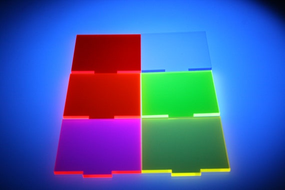 Fluorescent Pink Acrylic Sheet 3mm in A5, A4, A3, 100mm to 600mm Sheets