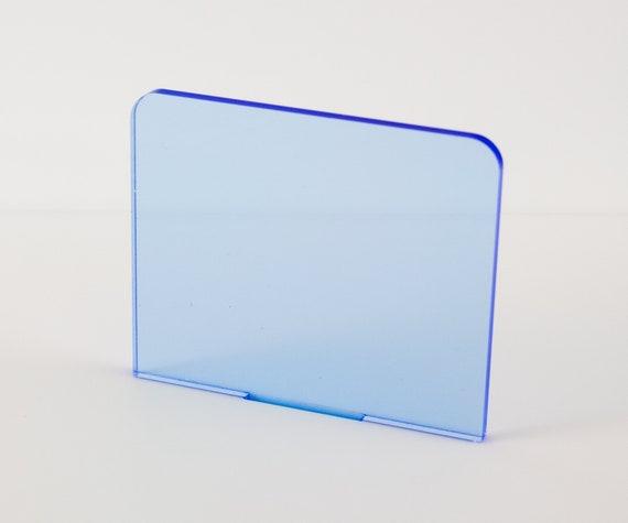 Fluorescent Plastic Perspex Acrylic Sheet Blue Orange Yellow Green Red Live Edge