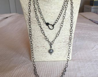 gunmetal chain set
