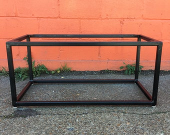 More Colors. Industrial Metal Coffee Table Base ...