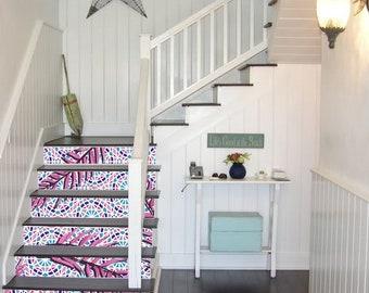 Portugese trap decoratie zelfklevend vinyl trap riser panelen etsy