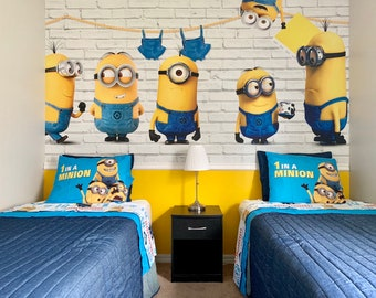 Minion wallpaper | Etsy