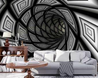 Paris View Wallpaper 3D Wall Sticker Wall decor Peel and Stick