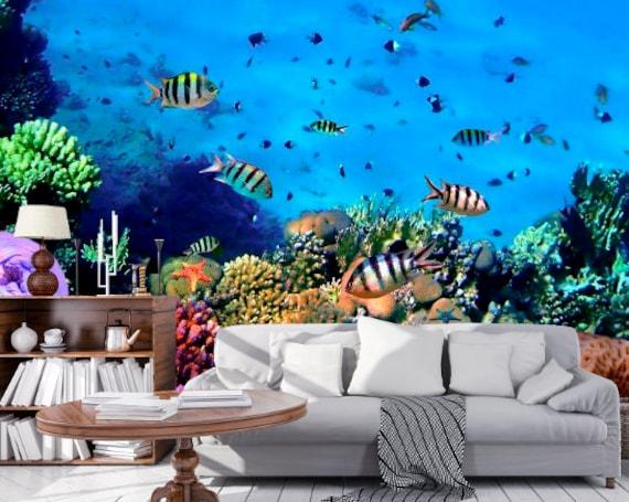 3d Ocean Wallpaper 3d Wall Sticker Wall Decor Peel And Stick Wallpaper 3d Wall Mural Self Adhesive Exclusive Design 3d Photo Wallpaper