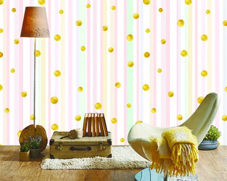 Golden Glitter Pink  Wallpaper 3D Wall Sticker Wall decor Peel and Stick Wallpaper Wall Mural Self Adhesive Exclusive Design Photo Wallpaper