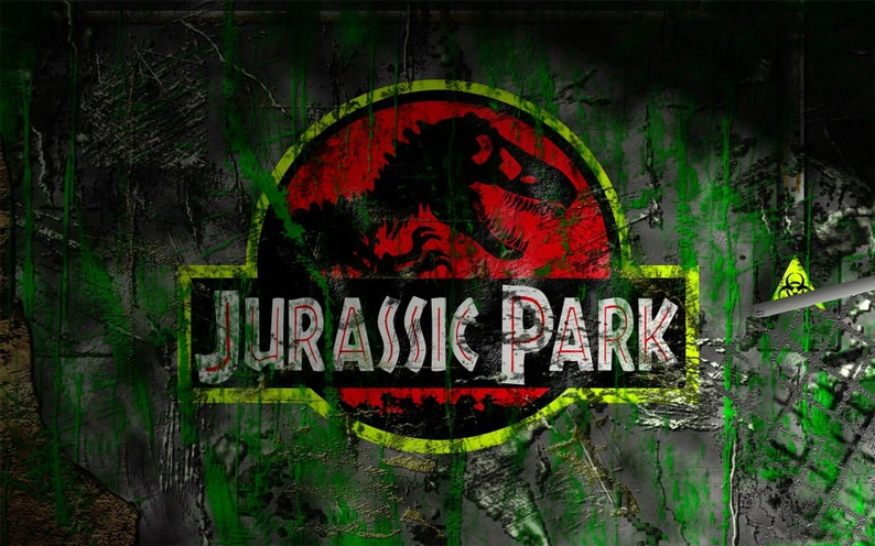Jurassic Park Dinosaurs Jurassic Travel Wallpaper Wall Sticker 3D Wall Mural Vinyl Exclusive Design 3D Photo Wallpaper