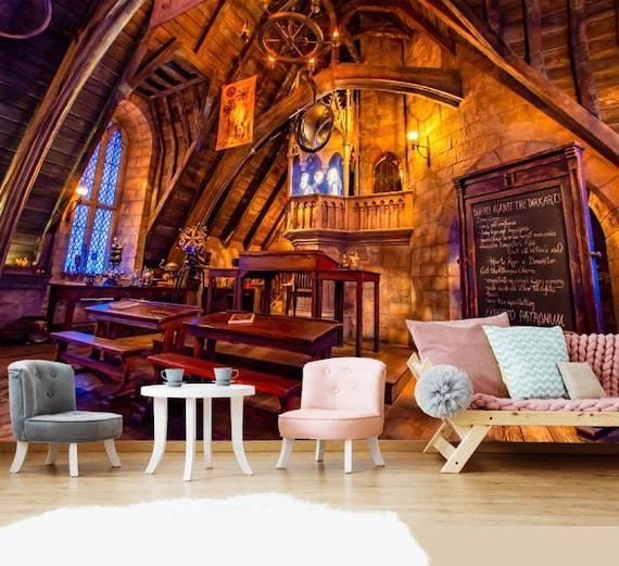 Magic Castle Dark Arts Room Gryffindor Common Room Castle Baby Etsy