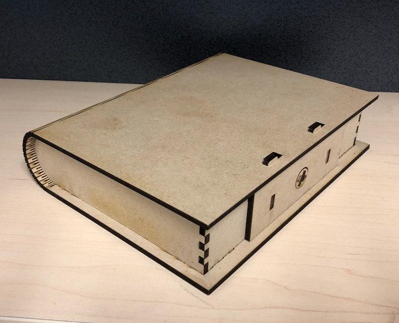 Wooden Keepsake Book Box image 0