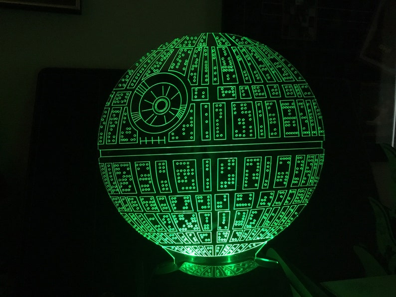 Death Star Starwars Night Light image 0