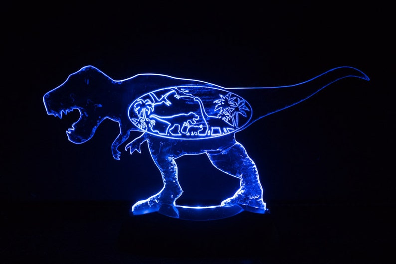 T Rex Night Light image 0
