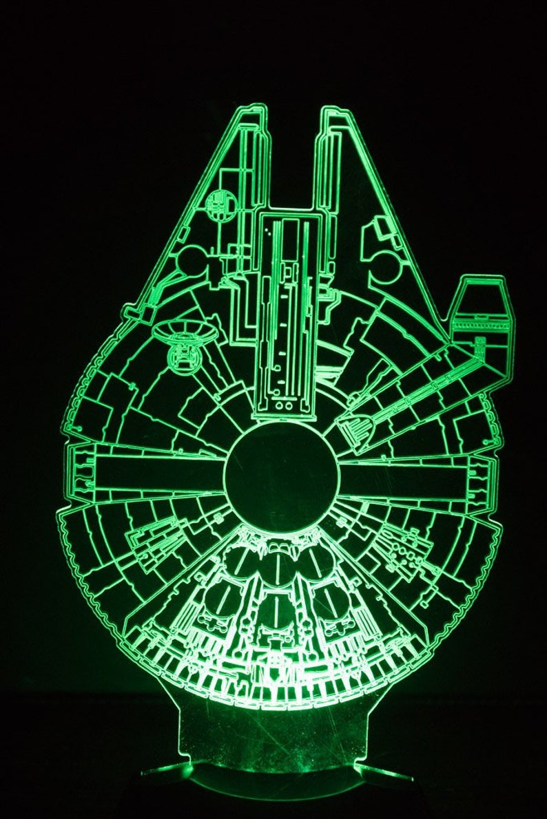Millenium Falcon Starwars Night Light image 0