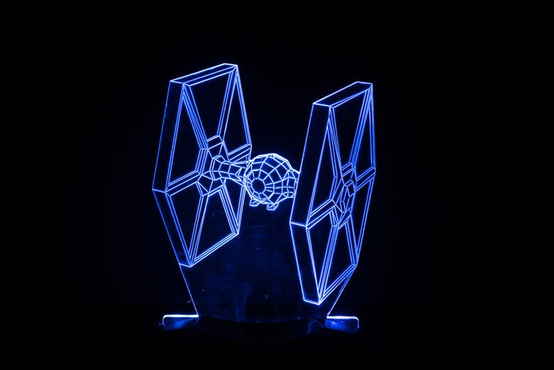 Tie Fighter Starwars Night Light image 0