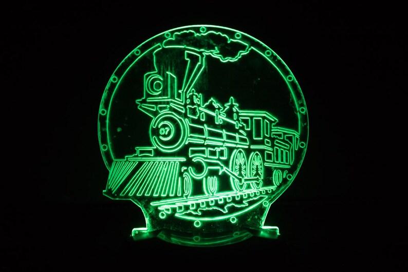Steam Train Night Light image 0