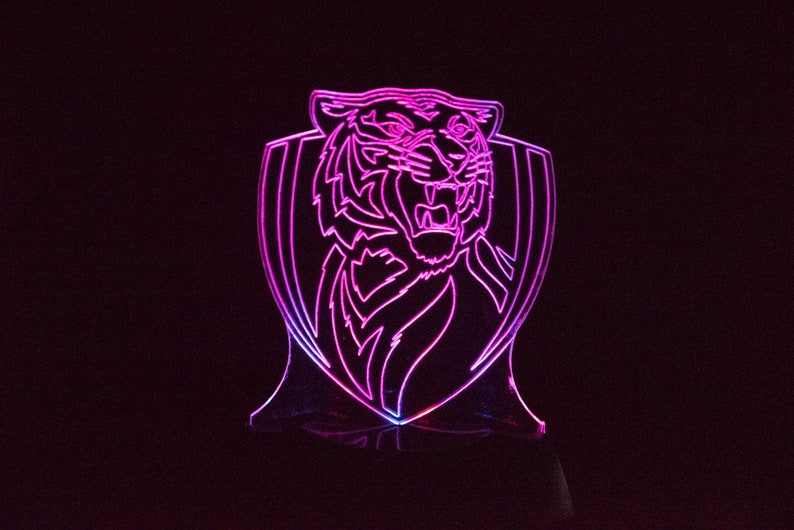 Richmond Tigers AFL Night Light image 0