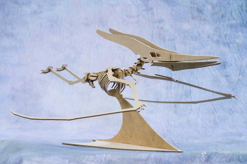 Pteranodon HD 3D Dinosaur Wooden Toy Puzzle image 0