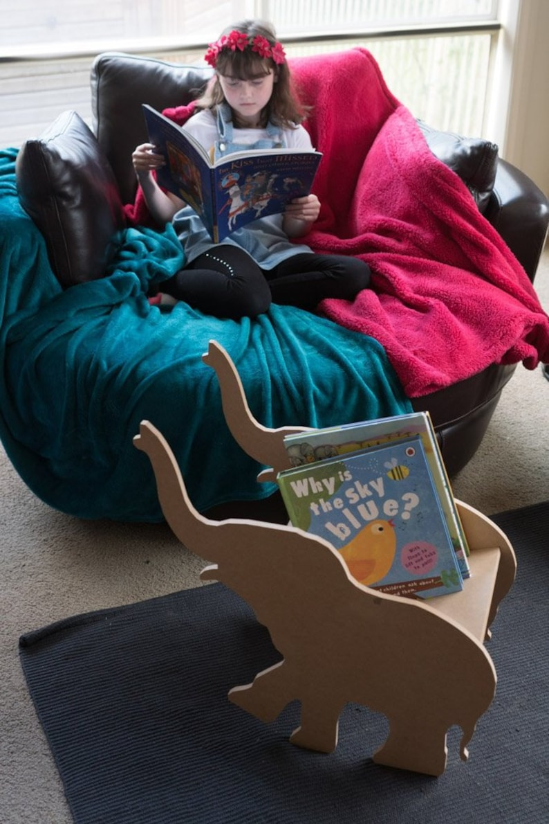 Elephant Book Cradle image 0