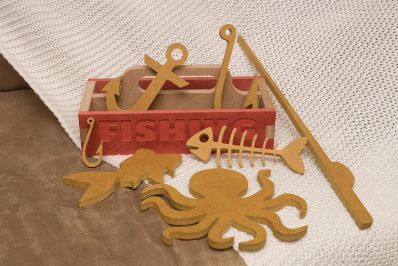 Toy Fishing Box image 0