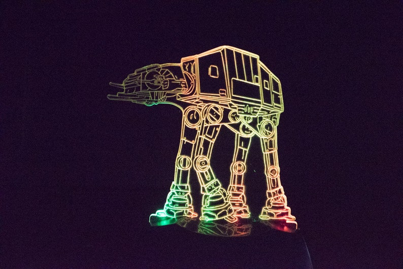 ATAT Imperial Walker Star Wars Night Light image 0