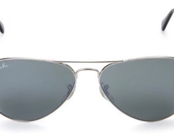 7539721f61 Ray-Ban Very Popular Aviator Sunglasses (Silver) (RB3025