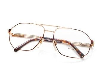 fa88c9eea8b4 Vintage Hilton Class 51 02 22KT Gold Plated Eyeglasses Sunglasses