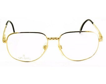 2896d12420fa7 Ettore Bugatti EB500 0104 56mm Vintage lunettes RX cadre optique lunettes
