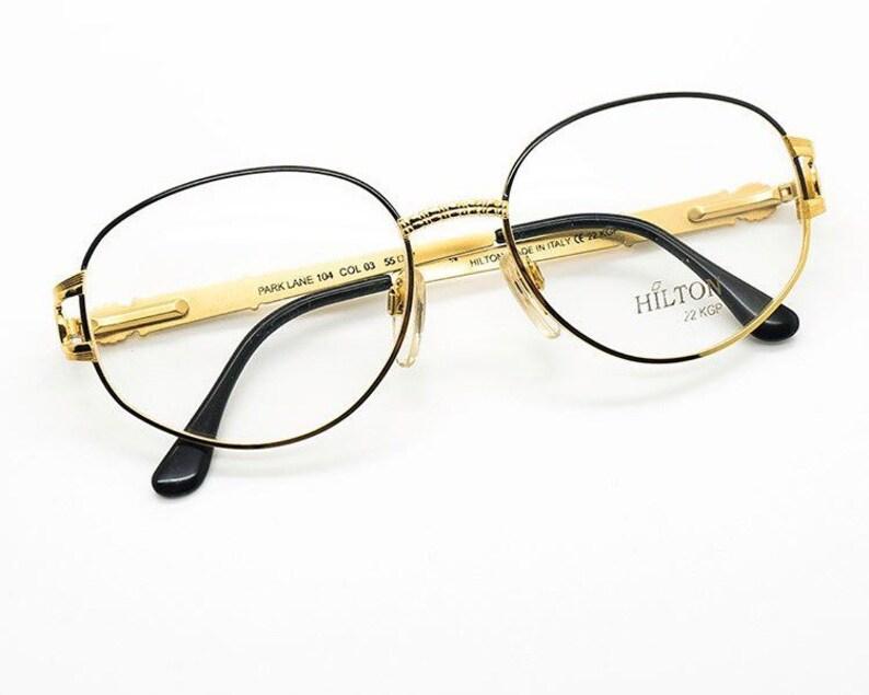7c3d4ca1a978 Vintage Hilton Parklane 104 Col. 03 55-17 size eyeglasess
