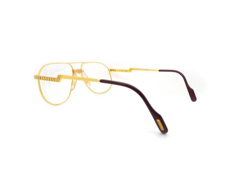 349ee35fb5d Hilton Exclusive 024 24K Gold Plated Vintage Aviator Glasses