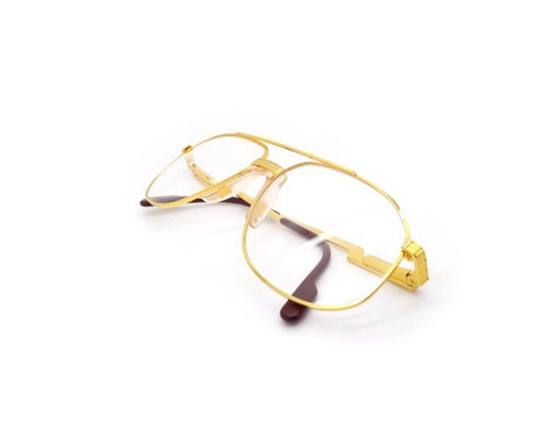 03d72adb0445 Hilton Exclusive 024 24K Gold Plated Vintage Aviator Glasses