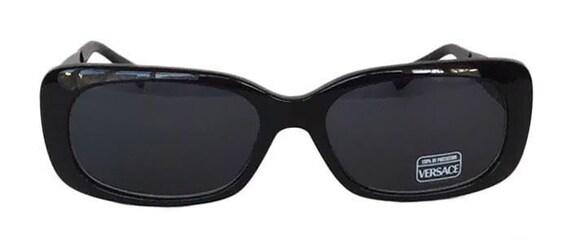 Vintage 1980's Gianni Versace 471/M 852 Black Des… - image 2