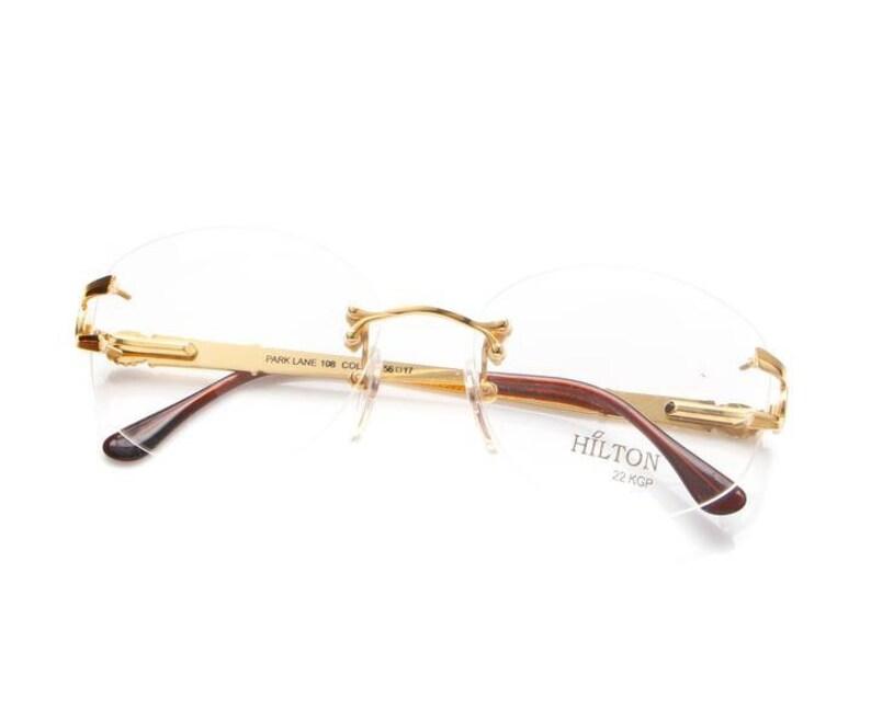 2f6ed0ca30c0 Vintage Hilton Parklane 108 02 22 KGP Eyeglasses