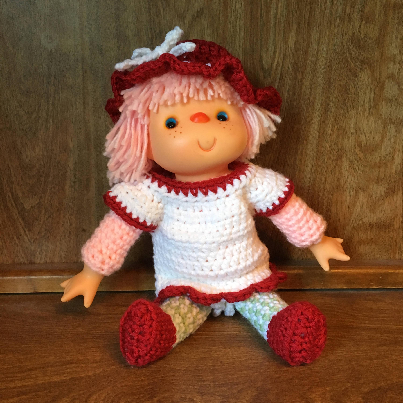Cherry Cupcake Doll Pattern Etsy