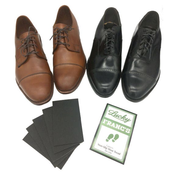 Black Non-Slip Shoe Treads. Anti-skid