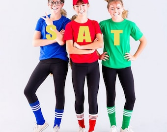 chipettes costumes adults
