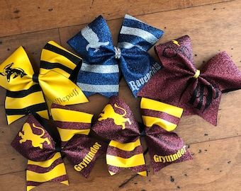 Harry Potter House Bows