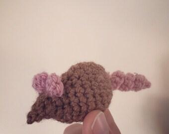 Little Crochet Catnip Mouse